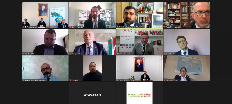 Türkiye'de Türkmenistan'ın Tarafsızlığının 25. Yıldönümü münasebetiyle Bilim adamlarının yuvarlak masa toplantısı düzenlendi