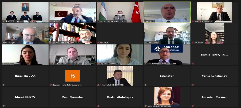 Türkmenistanyň Türkiýe Respublikasyndaky Ilçihanasy tarapyndan Türkmenistanyň Garaşsyzlygynyň şanly 30 ýyllygy mynasybetli wideo aragatnaşyk arkaly brifing geçirildi.
