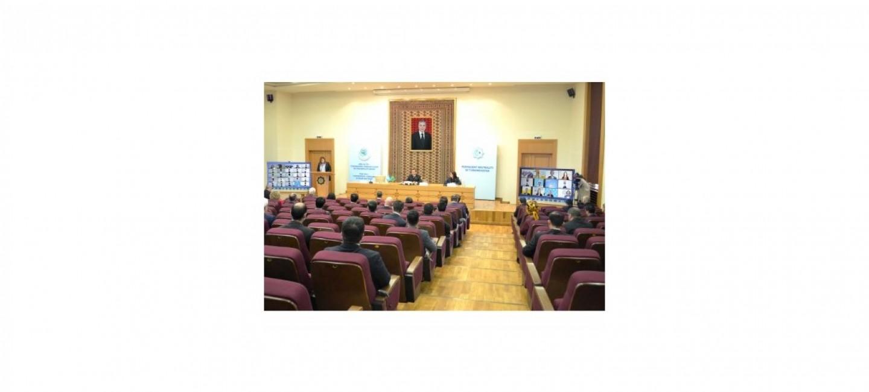 AŞGABATDA «TÜRKMENISTAN WE BIRLEŞEN MILLETLER GURAMASY: PARAHATÇYLYGY WE YNANYŞMAGY GAZANMAGYŇ UGRUNDA HYZMATDAŞLYK» ATLY HALKARA MASLAHATY GEÇIRILDI