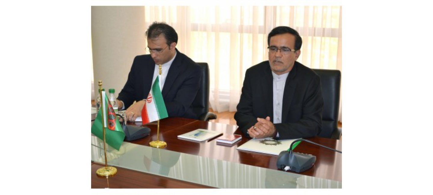 MEETING AT THE MFA WITH THE CONSUL-GENERAL OF IRAN IN MARY CITY