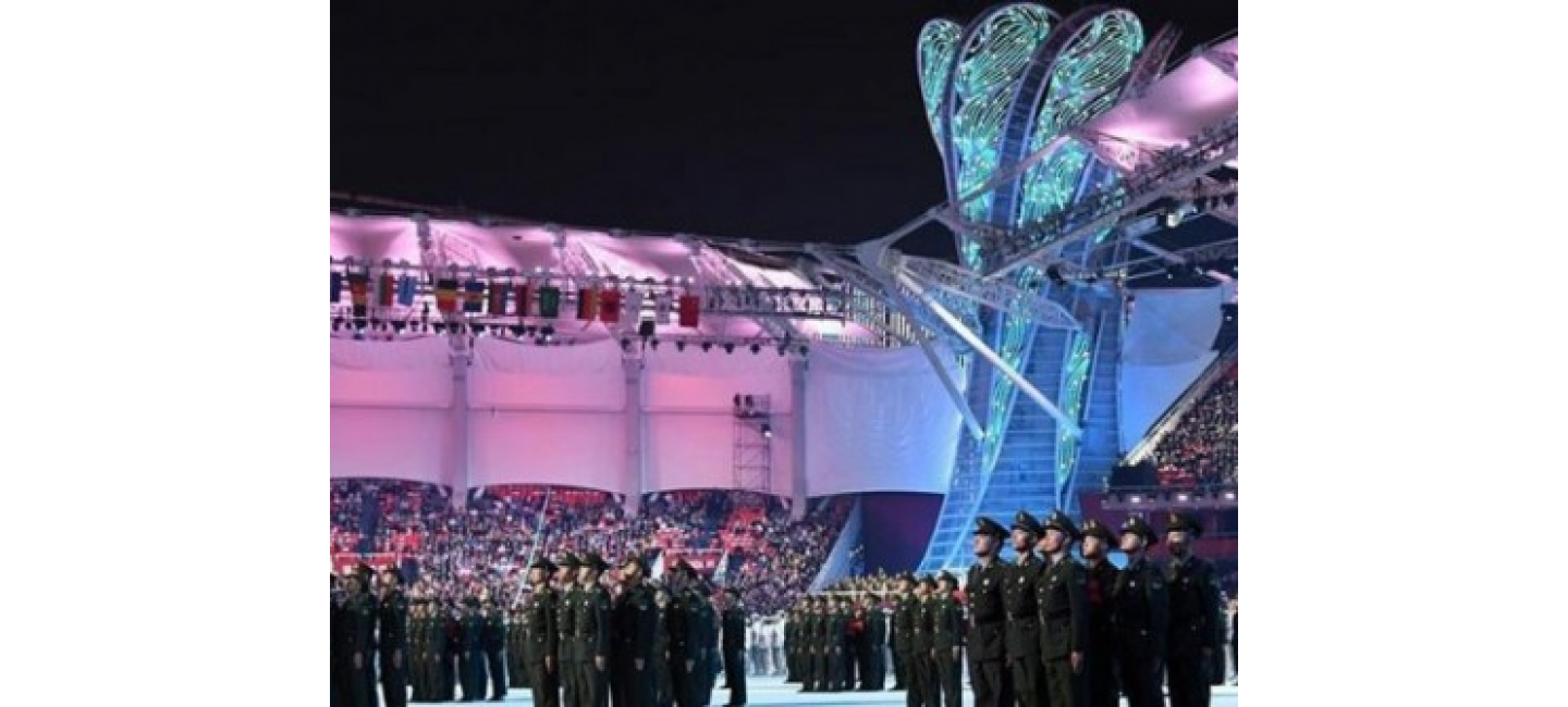 TURKMEN DELEGATION TOOK PART IN THE MILITARY WORLD GAMES FOR THE FIRST TIME