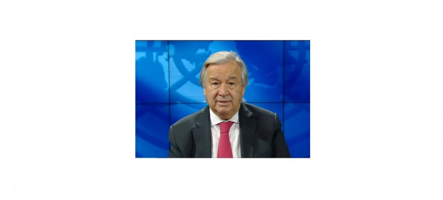 UNITED NATIONS SECRETARY-GENERAL'S MESSAGE TO THE PARTICIPANTS OF THE INTERNATIONAL CONFERENCE HELD IN ASHKHABAD