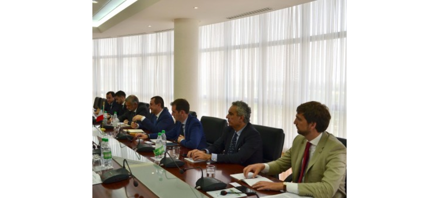 THE PRIORITY AREAS OF THE TURKMEN-ITALIAN COOPERATION WERE DISCUSSED AT THE MINISTRY OF FOREIGN AFFAIRS OF TURKMENISTAN