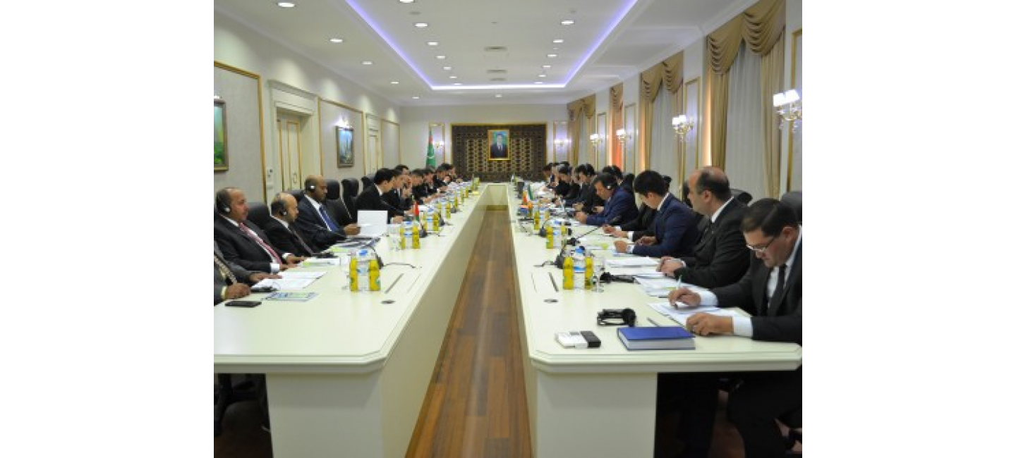 MEETING OF THE WORKING COMMITTEE OF THE AGREEMENT ON THE ESTABLISHMENT OF AN INTERNATIONAL TRANSPORT AND TRANSIT CORRIDORS IS TAKING PLACE IN ASHGABAT