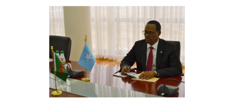 AMBASSADOR OF THE FEDERAL REPUBLIC OF SOMALIA ACCREDITED IN ASHGABAT